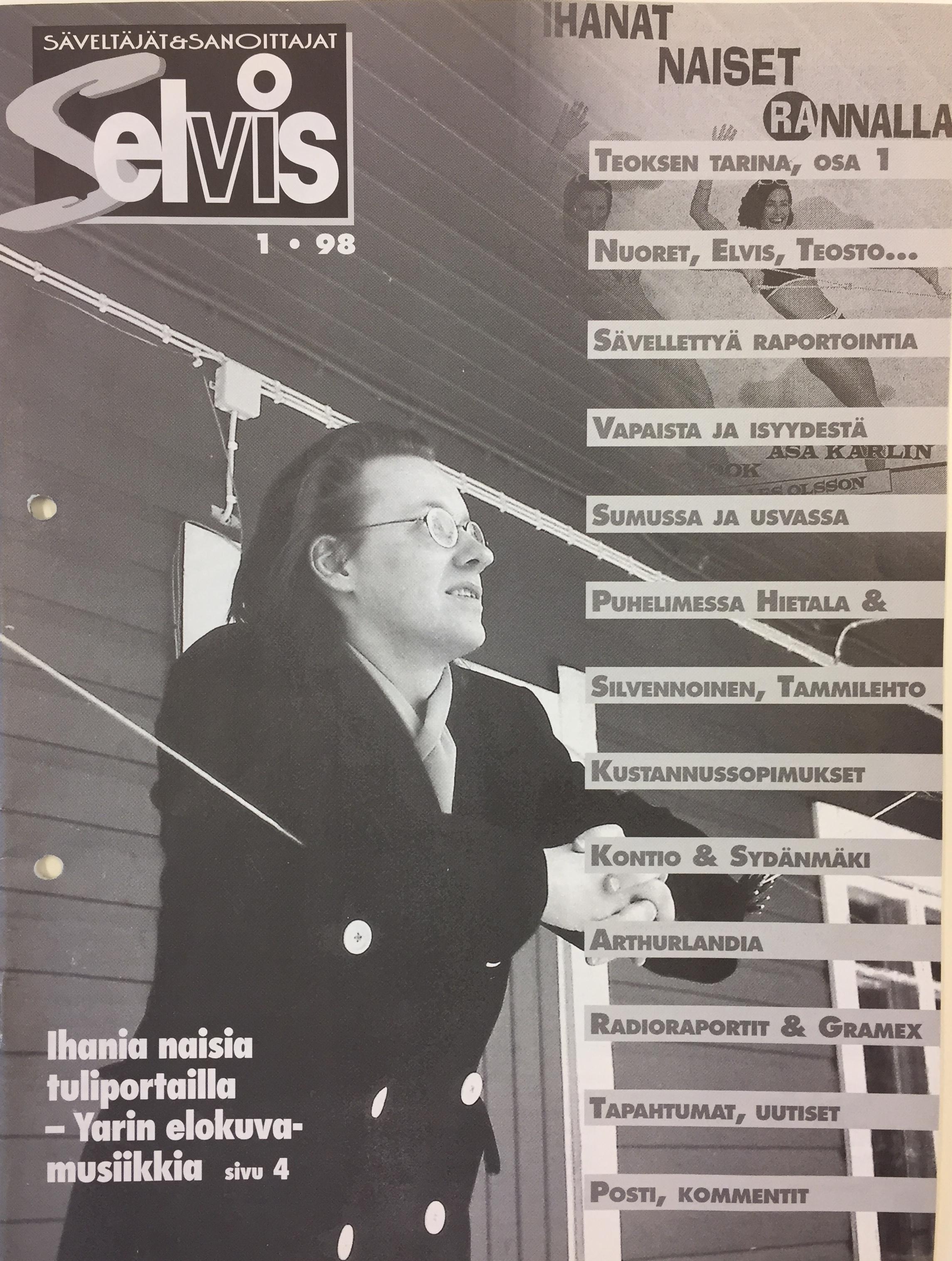 Lehden kansi: 1/1998