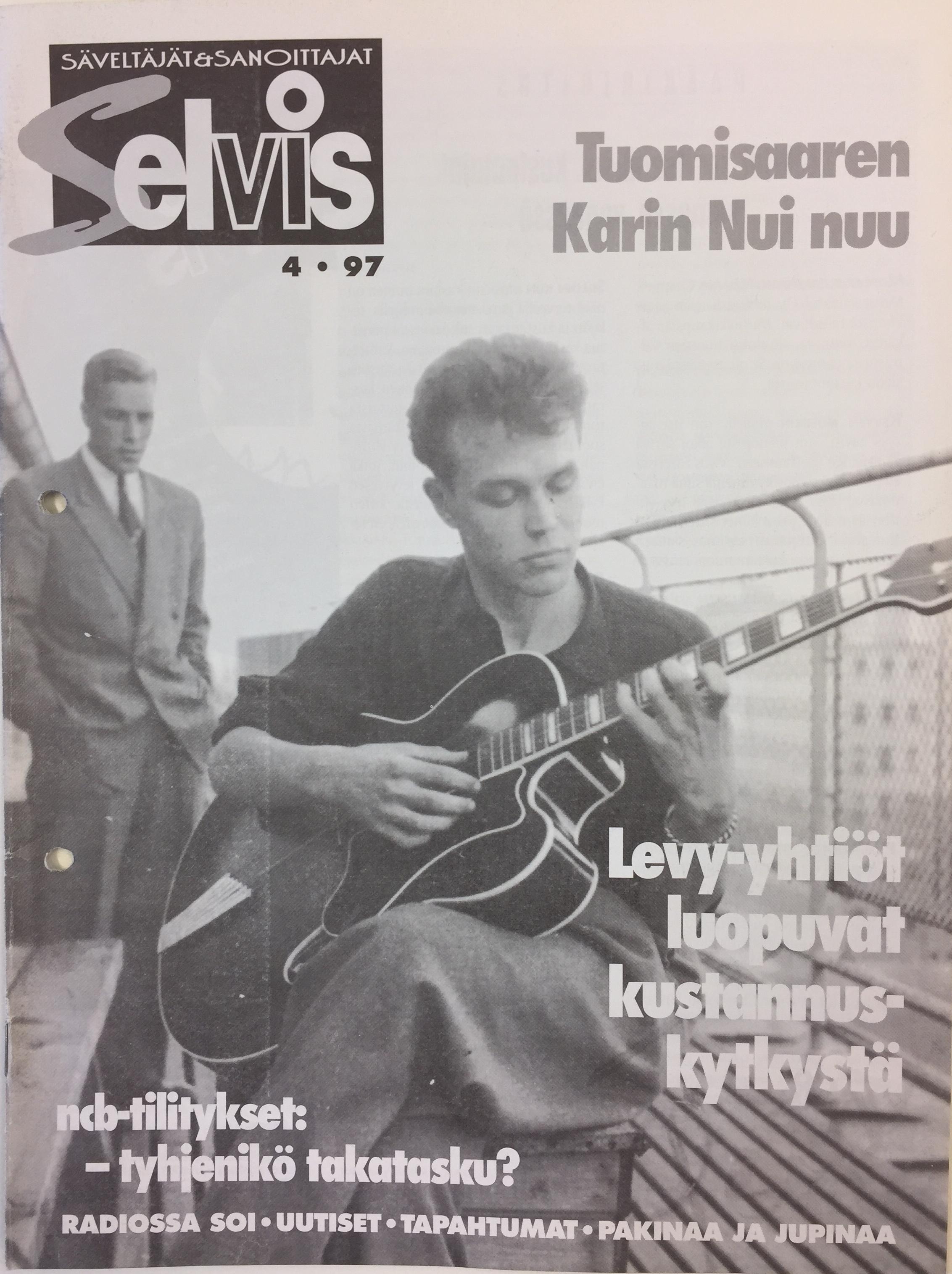 Lehden kansi: 4/1997
