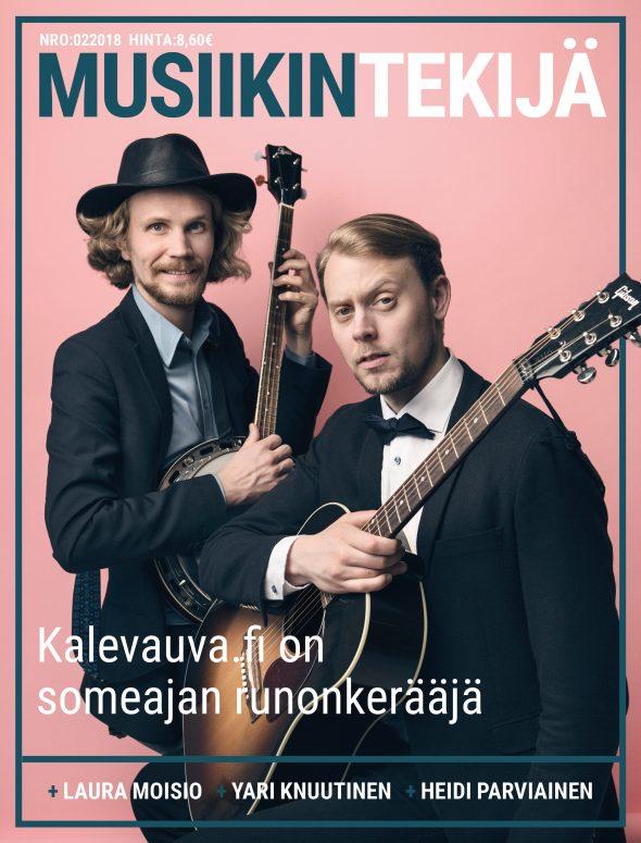 Lehden kansi: 2/2018