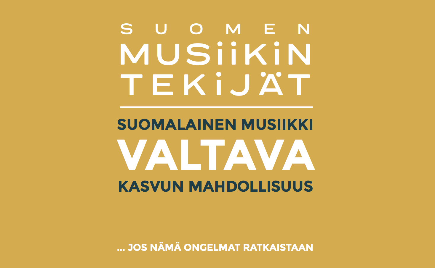 Suomalainen musiikki – Valtava kasvun mahdollisuus